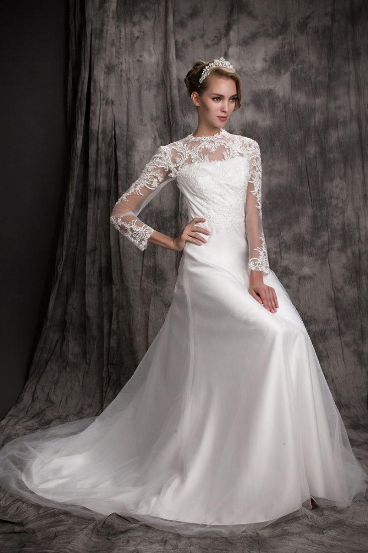 Bernadette Jpa809 June Peony Bridal Couture Wedding Dress