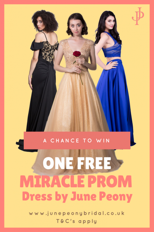 Like & Share\' and Win A Free Miracle Prom Dress by June Peony ...