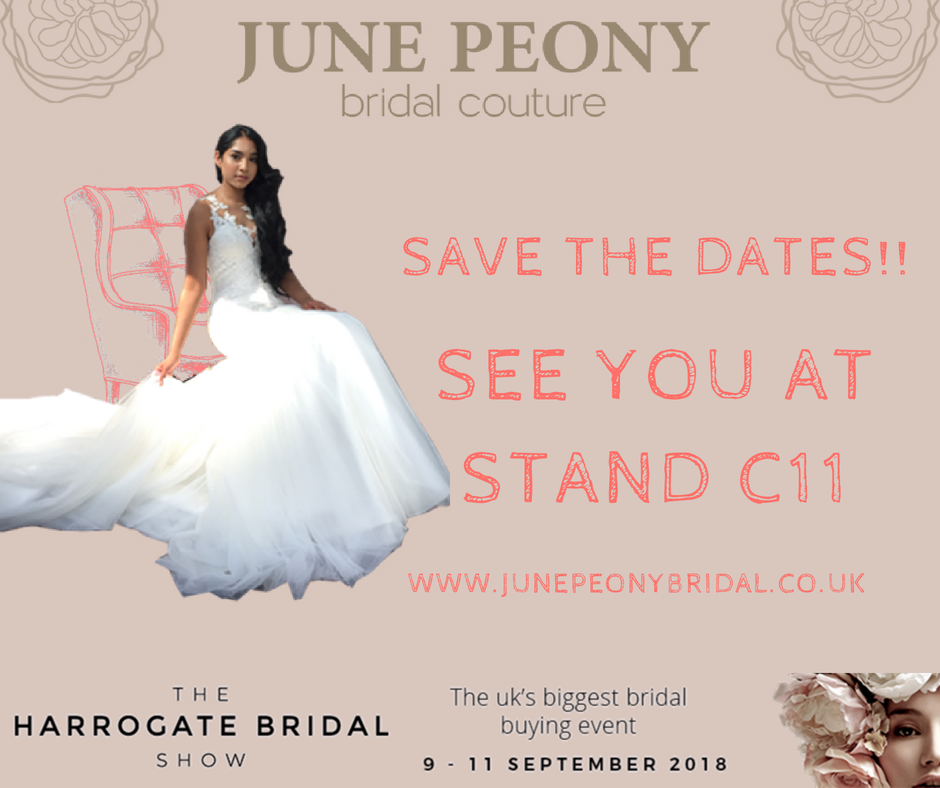 Harrogate Bridal Show 2018 - June Peony Bridal Couture (Birmingham ...
